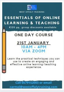 online learning and teaching